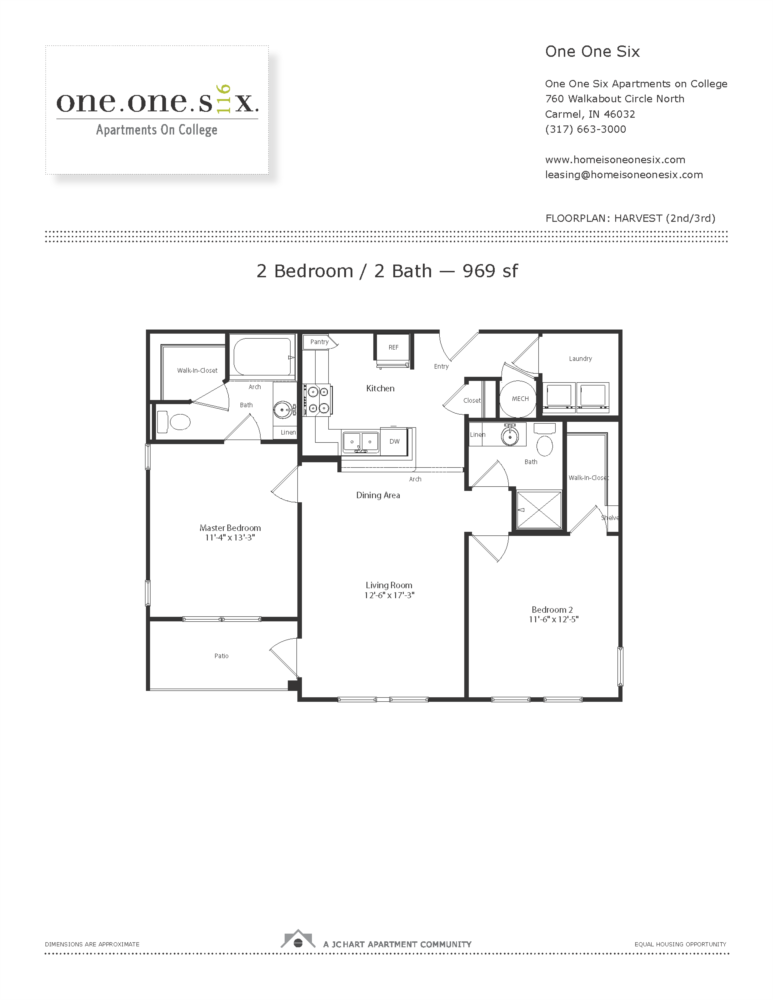 Harvest 2 Bedroom Floor Plan One One Six Apartments,Dream House Sweet Home Design